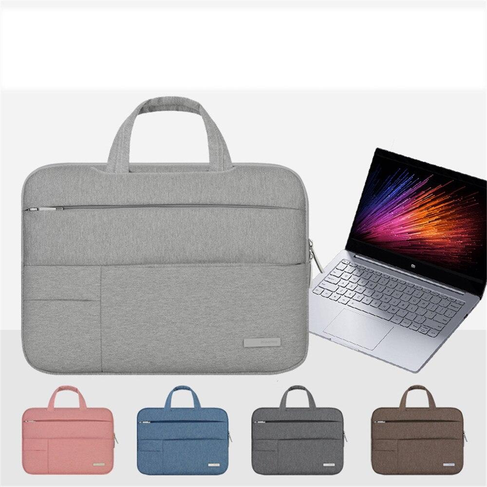 Nylon weichen männer fühlten tragbare handtasche laptop-tasche für dell asus lenovo hp...