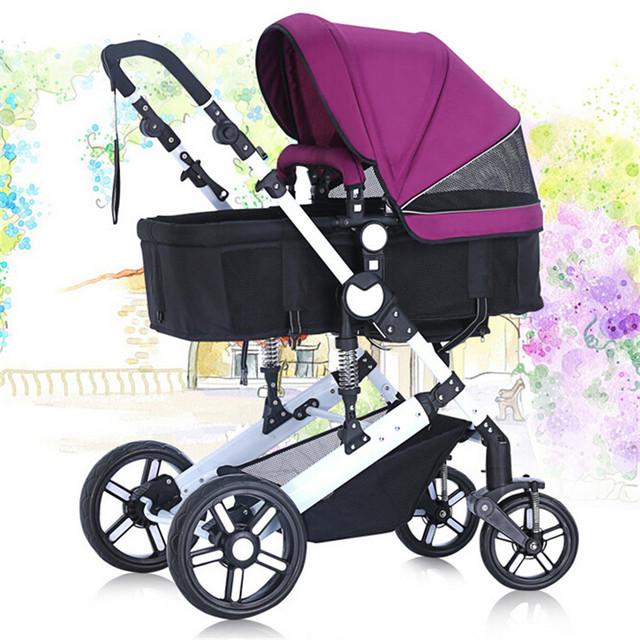 Sistema de viaje Bebé Cochecito Ultra Ligero Cochecito Infantil Recién Nacidos Toddlers Carro Plegable Ligero Cochecito de Bebé Paraguas Carro
