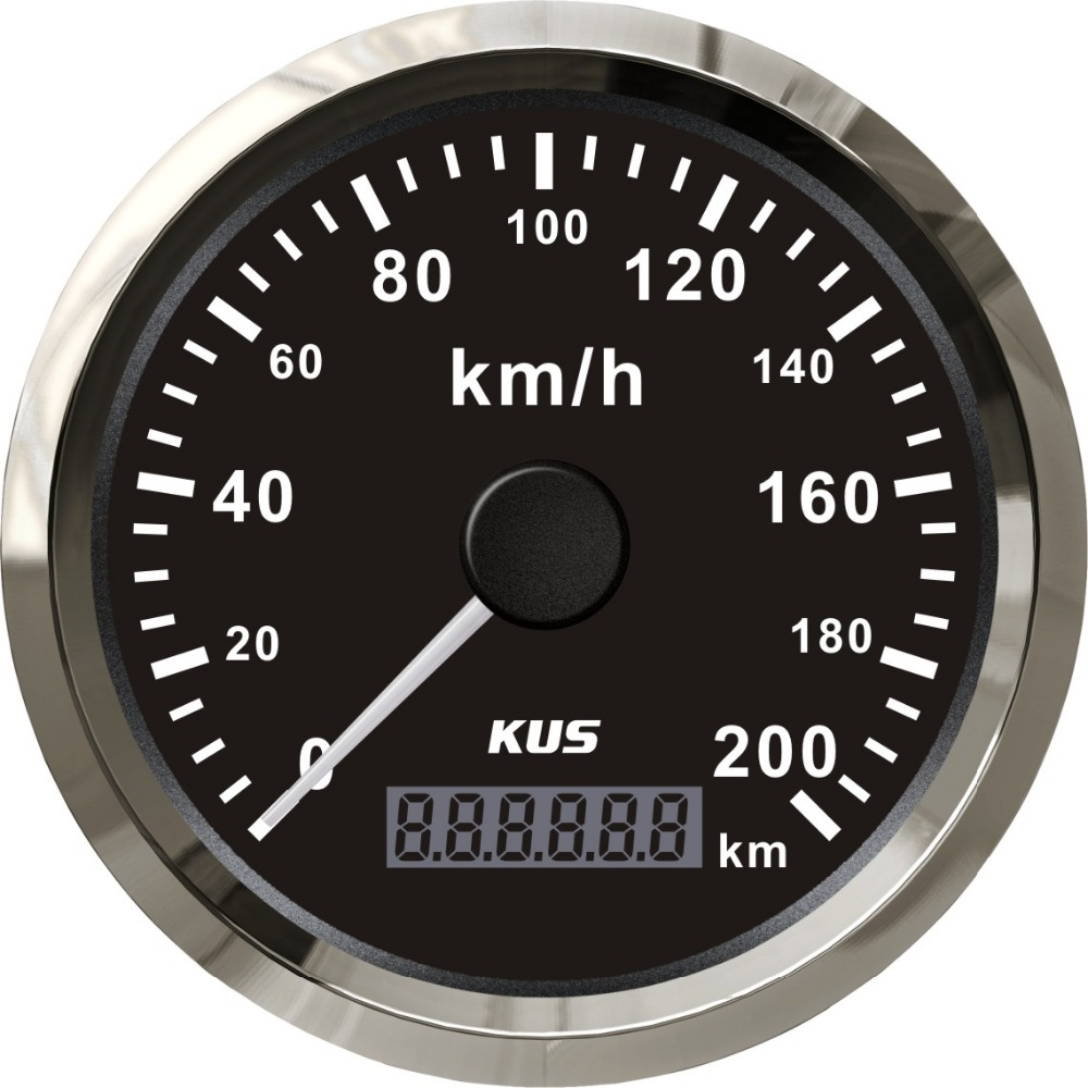 Wonderbaarlijk KUS Universele GPS Snelheidsmeter Kilometerteller Gauge Meter 200 EJ-81