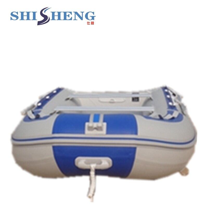 Bote inflable de aluminio plegable de alta - Deportes acuáticos - foto 2