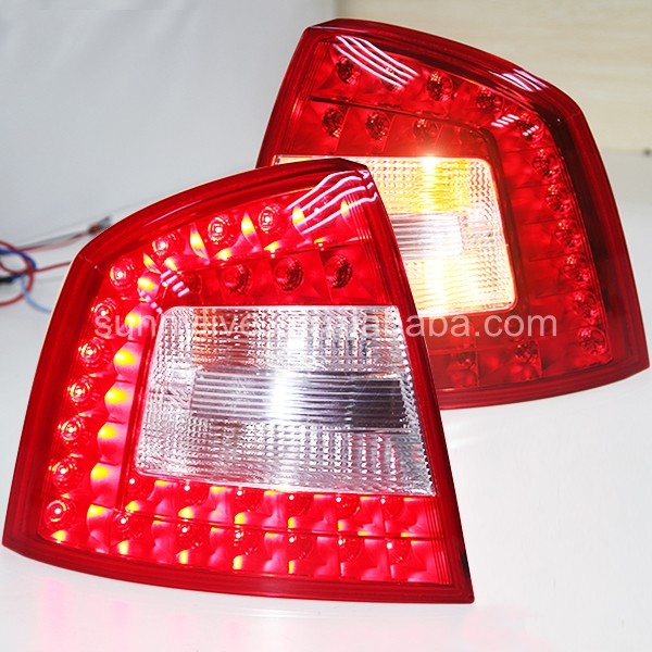 LED Tail Lamp for Skoda Octavia 2005-2008 free shipping for skoda octavia sedan a5 2005 2006 2007 2008 left side rear lamp tail light