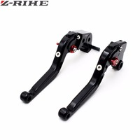 RIZOMA CNC Motorbike Brake Clutch Levers Black Foldable Clutch Brake Levers For Kawasaki Z1000 03 04