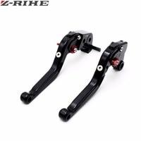 RIZOMA CNC Motorbike Brake Clutch Levers Black Foldable Clutch Brake Levers For Kawasaki Z1000 03 04