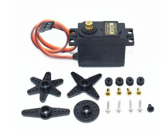 1 pcs/lot MG995 55g servos numérique métal engrenage rc voiture robot Servo