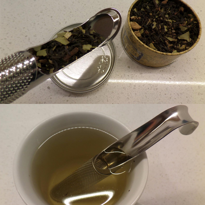 Tea Infusers Stainless Steel Tea Sticks Infuser Pipe Design Touch Feel Good Tea Tool Kitchen Accessories GI876954