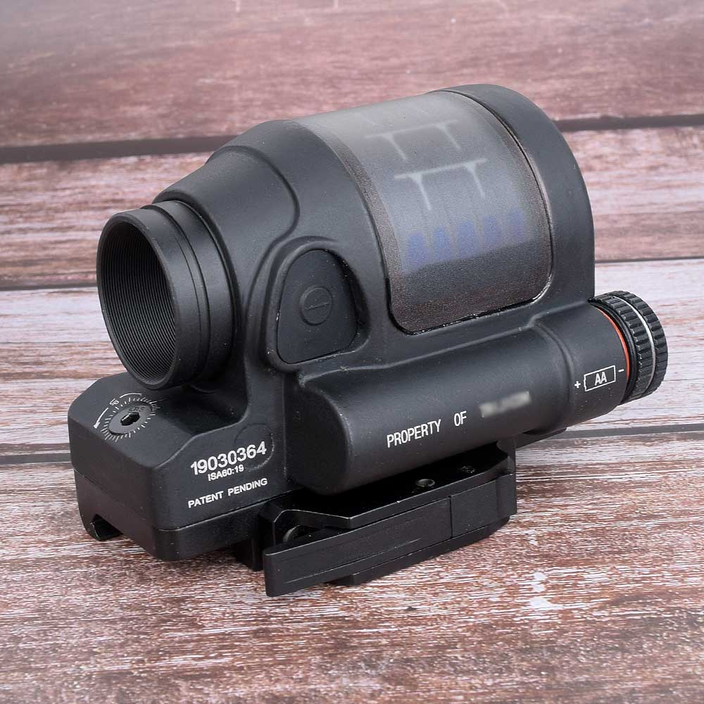 Hunting Sight Hunting Reflex Sight Power System Hunting SRS 1X38 Red Dot Sight Scope With QD Mount Optics Rifle Scope