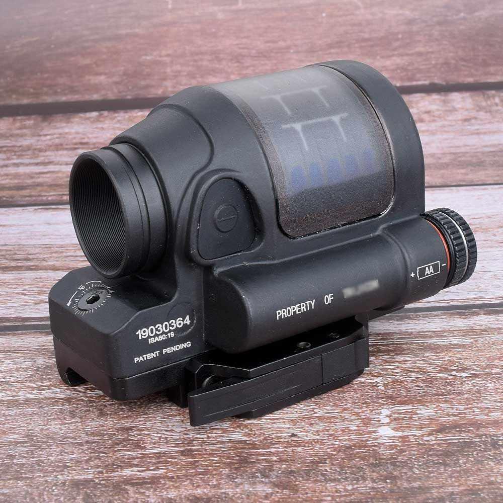 Mira para caza, réflex de caza, sistema de potencia de mira para caza SRS 1X38, mira telescópica de punto rojo con soporte QD, mira para Rifle óptica
