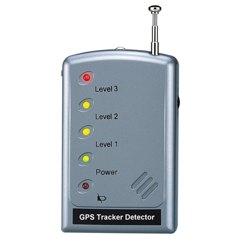GPS Tracker Detector GSM BUG Detector Anti-tracking High sensitivity GSM phone Signal Detector For Security Free Shipping 1 pcs full range multi function detectable rf lens detector wireless camera gps spy bug rf signal gsm device finder