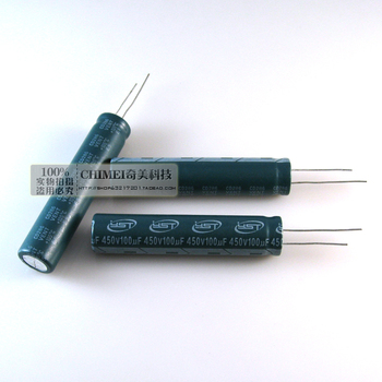 Electrolytic Capacitor 450V 100UF 60X13MM LCD TV LED Capacitors