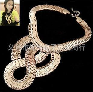 2015 Hot necklace fashion party chunky luxury choker statement necklace women