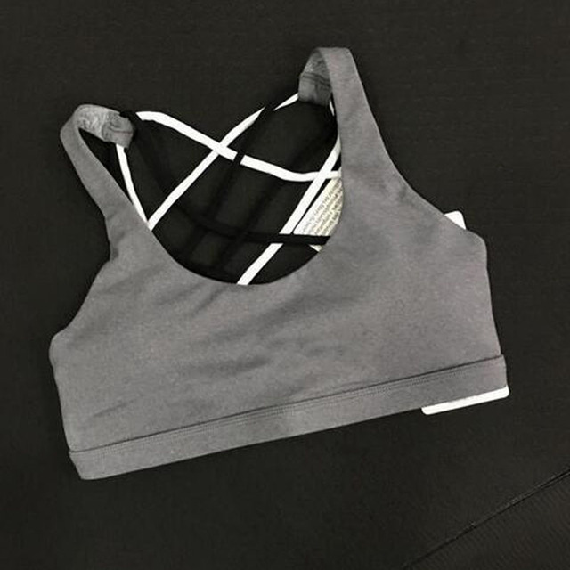 High quality size 4/XS -12/XL women Yogaes Lulu Bra / Tops /Tees Dry Quick Compression tank camis with bra,free shipping
