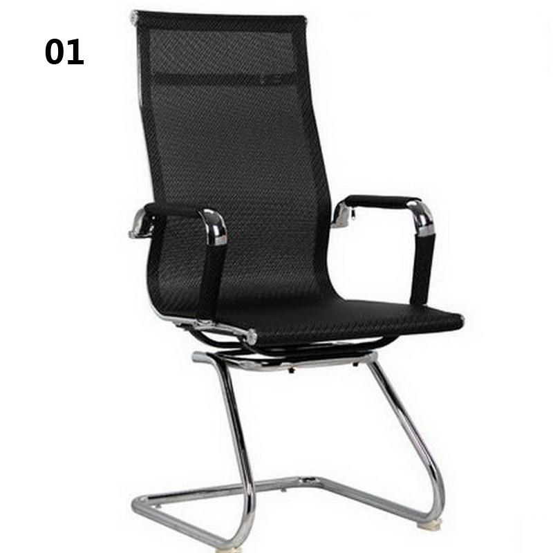 240308/Computer Chair Household Office Chair /Lift up and down/Bow meeting chair/High quality nano mesh 240311 high quality pu leather computer chair stereo thicker cushion household office chair steel handrails
