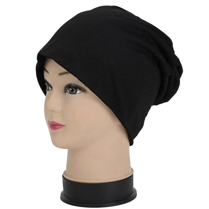2019 ربيع الخريف قبعة النساء الرجال رقيقة بونيه كاب عارضة النساء بيني قبعة للرجال الهيب هوب skullies الذكور قبعة قبعة الإناث