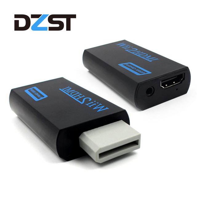 For Wii TO HDMI Converter Wii2HDMI with 35mm Audio Video Output