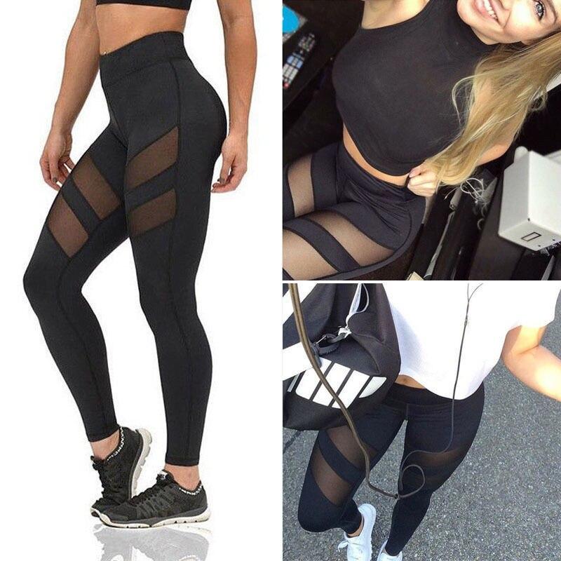 Bigsweety Hot Sale Women Leggings Sexy Mesh Leggins Summer Mesh Patchwork Pants Female Lady Leggings Ankle Length Trouser New