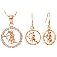 Luxury Women S Necklace Earrings Jewelry Sets UK 925 Sterling Silver Pendant Earrings Set Custom Twelve