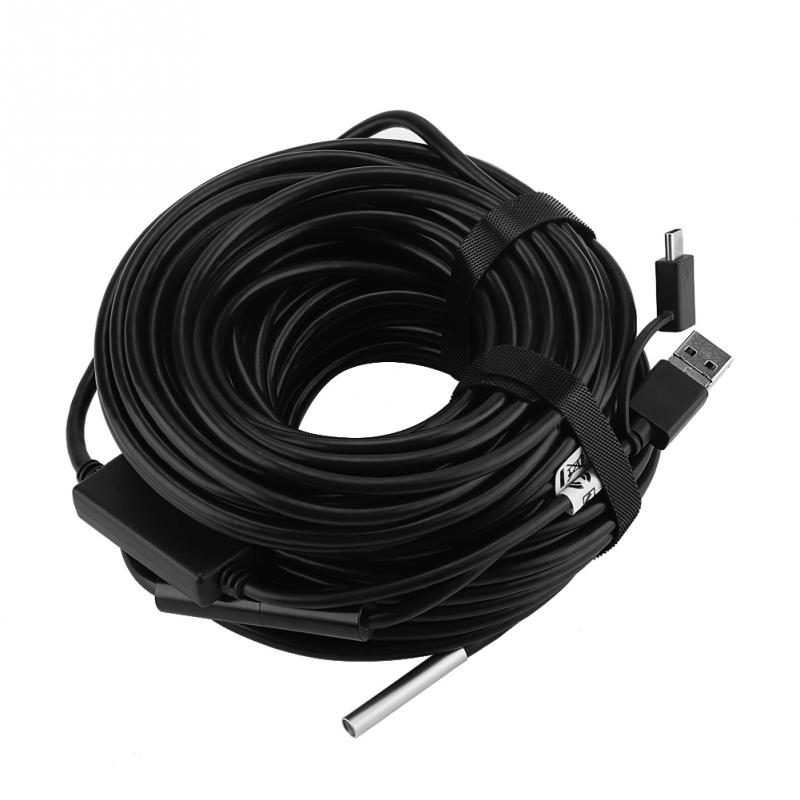Obligatorisch Endoskop Kamera Mini Wasserdicht Weiche Kabel Inspektion Kamera 5,5mm 20 Mt Usb Endoskop Endoskop Endoskop Für Iphone Endoskope