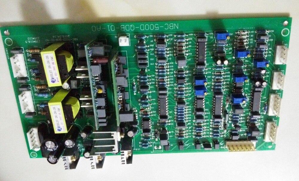 Az NBC350 / 500 IGBT fő vezérlő meghajtó panel lapja vezérli a - Hegesztő felszerelések - Fénykép 4