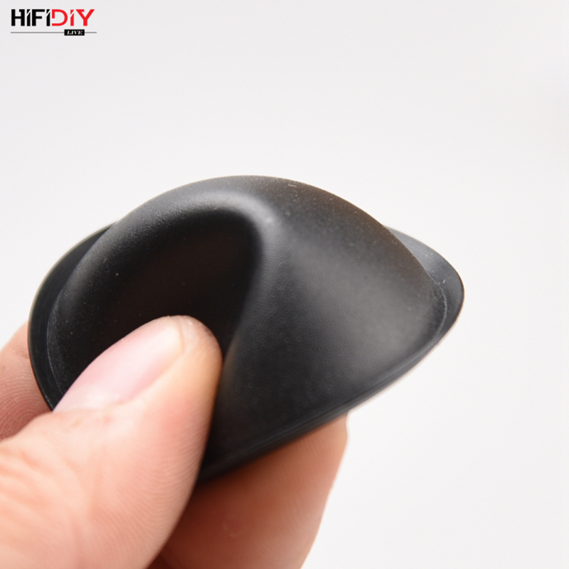 HIFIDIY LIVE  Woofer Speaker Repair Parts Accessories Black Audio Soft Rubber Dust Cover Dome Dust CAP Series 40mm 45mm 54mm