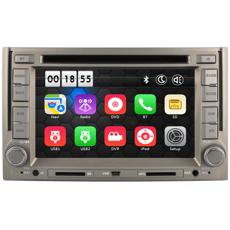 6 2 inch Car DVD Player with font b GPS b font Navigation system for Hyundai