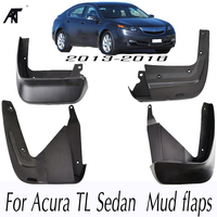 Car Mud Flaps For Acura TL Sedan 2012 2016 Mudflaps Splash Guards Mud Flap Set Molded Mudguards Fender Front Rear Styling
