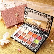 15 Warna Eyeshadow Palet Matte Nude Makeup Pemula Gadis Kalung Tas Eyeshadow Disc In Parity Warna Bumi Glitter Shimmer(China)