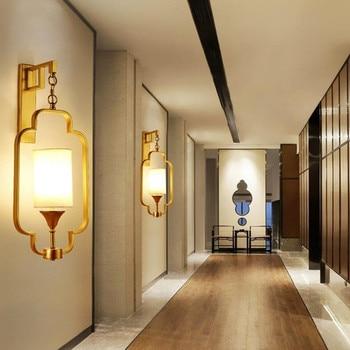 אמיתי מיהר Quadri Moderni קיר מנורת רטרו מלון מרפסת מסדרון עתיק ברזל סלון מיטת חדר LED אורות דקור משלוח חינם