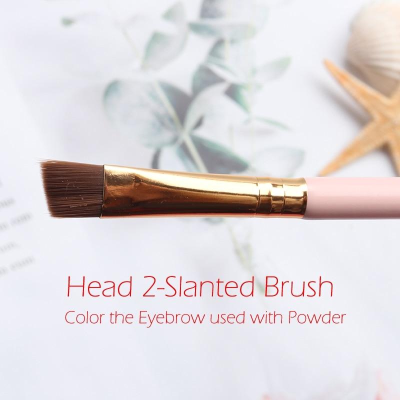 slanted brush