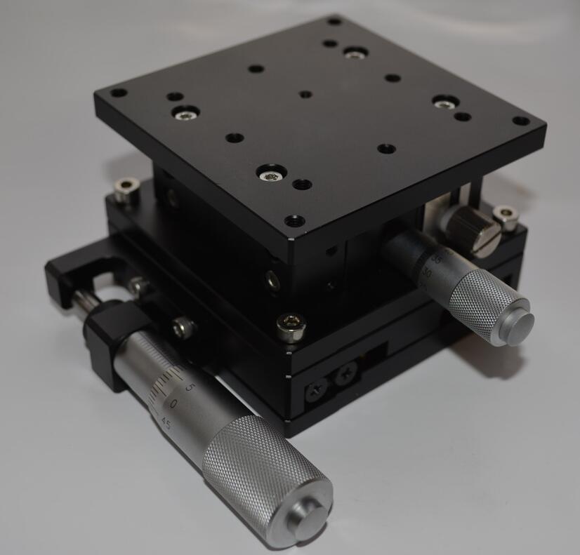 XZ Axis 80mm Sliding Stage Displacement Lift Platform Guide Rail 80*80mm XZ80-L цена и фото