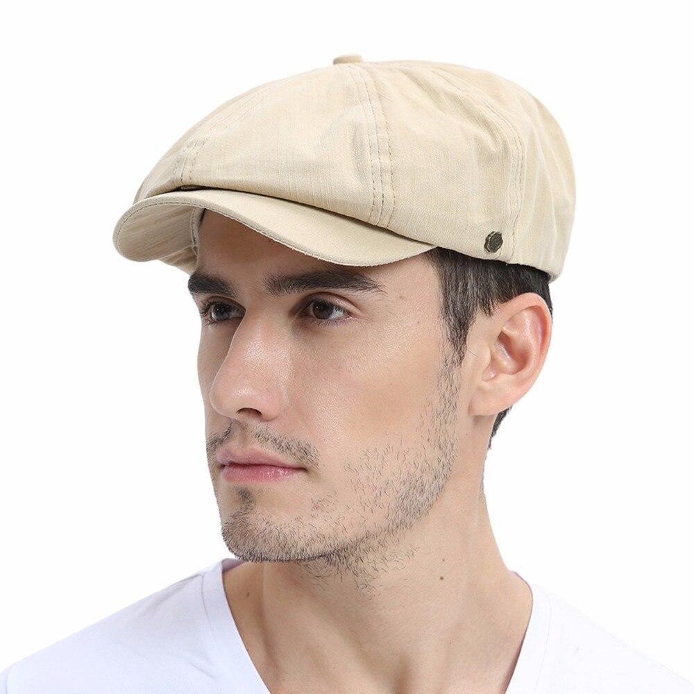 VOBOOM Summer Newsboy Cap Men   Women Eight-panel Hat 9e28066ce0e