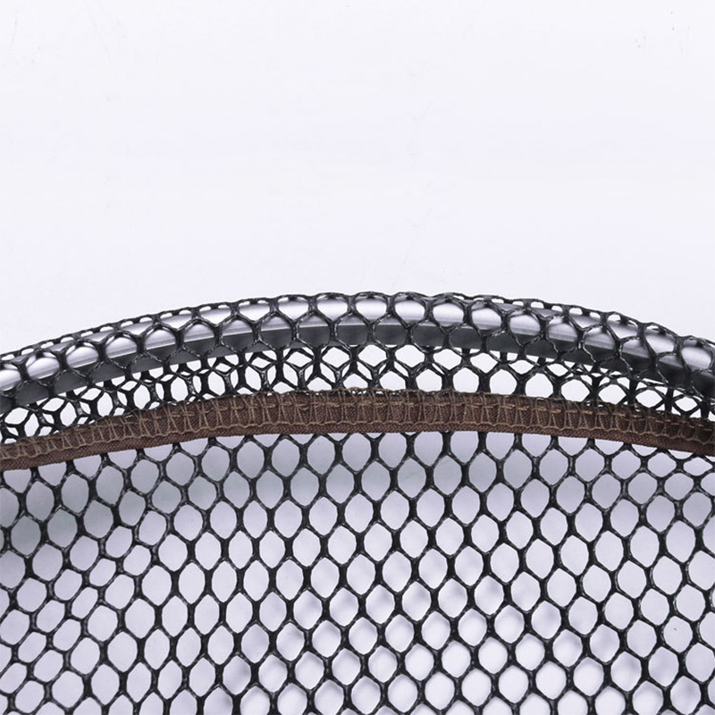 Magnalium Alloy Small Mesh Rubber Coating Fishing Landing Net Diameter 35 40 45cm Depth 30 50 55cm Fish Catch And Release Net in Fishing Net from Sports Entertainment