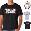 Новые Дональд Трамп Президента 2016 Т Рубашка Сделать Америку Великой Снова Мужчины Футболку