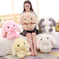 Cute Rabbit Backbage Rabbit Shape Plush Backbage Stuffed Soft Rabbit Toy Children School Bag Gift Kids Toy For Little Girl