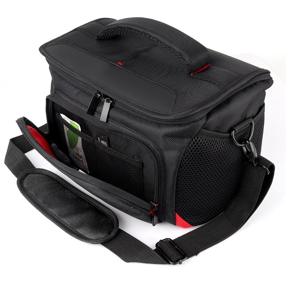 DSLR Camera Bag Waterproof Case For Nikon D7500 D5600 D3400 D3300 D7100 D3200 D3100 D7200 D5100 D5200 D5300 D5500 D810 D750 D90 huwang multifunction dslr camera backpack bag case for nikon d7200 d7100 d5300 d3400 d90 sony a7 ii iii canon 750d 200d lens bag