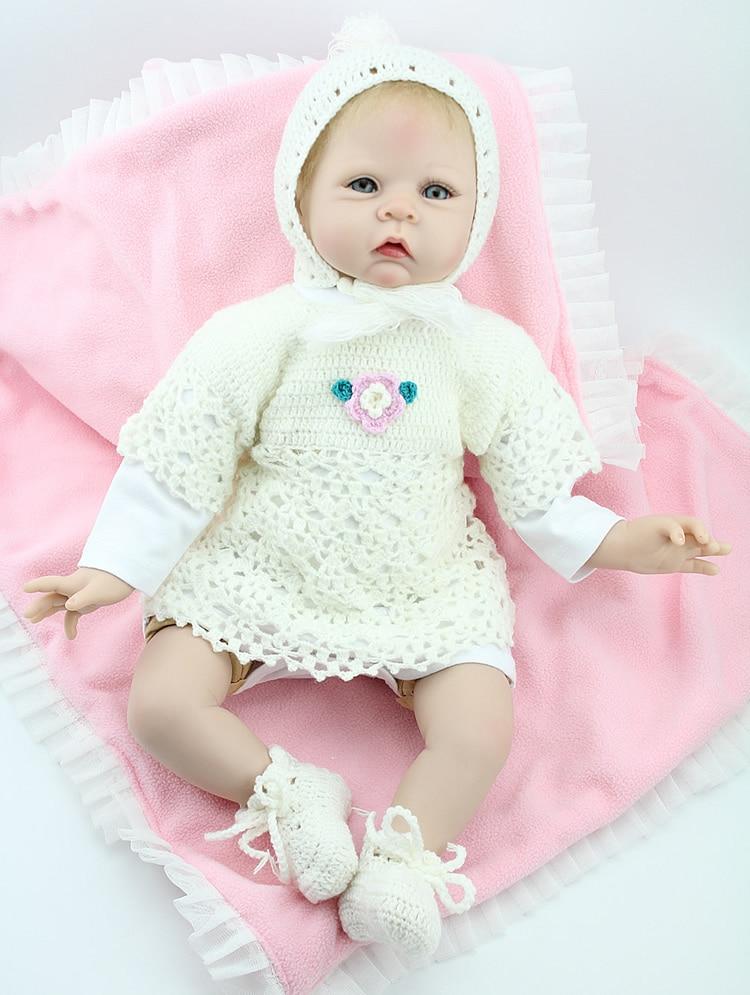 Life like 20 inch fully vinyl body fashion doll generation touch for newbornLife like 20 inch fully vinyl body fashion doll generation touch for newborn