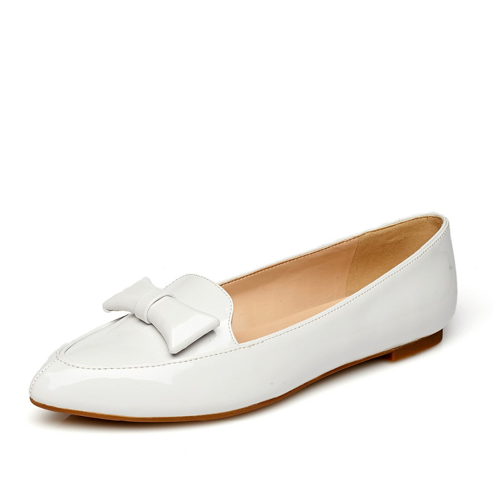 ФОТО Spring shoes sweet bowknot is low with commuting women's shoes work shoes with flat sole 352