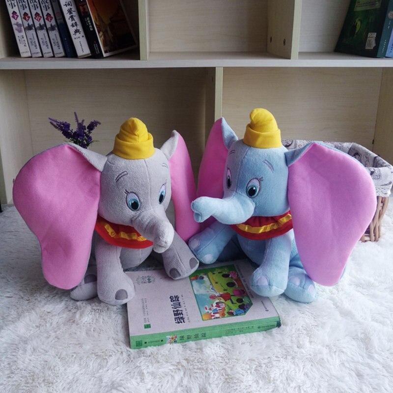 2019 Disney Stuffed Animals Plush 30CM Dumbo Elephant Plush Toys Stuffed Doll Birthday Christmas Collection Gifts Kids Girls Toy