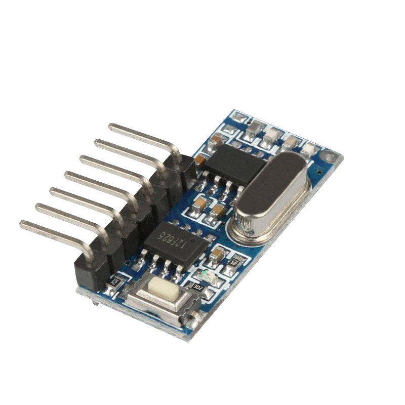 Image 2 - Wireless Wide Voltage Coding Transmitter Decoding Receiver 4 Channel Output Module for 433Mhz Remote Control KT02 4x3+RX480E 4-in Remote Controls from Consumer Electronics