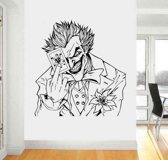 Poker Style Mirror Decal Wallpaper Self Adhesive Hallway New 1 Set Wall Sticker