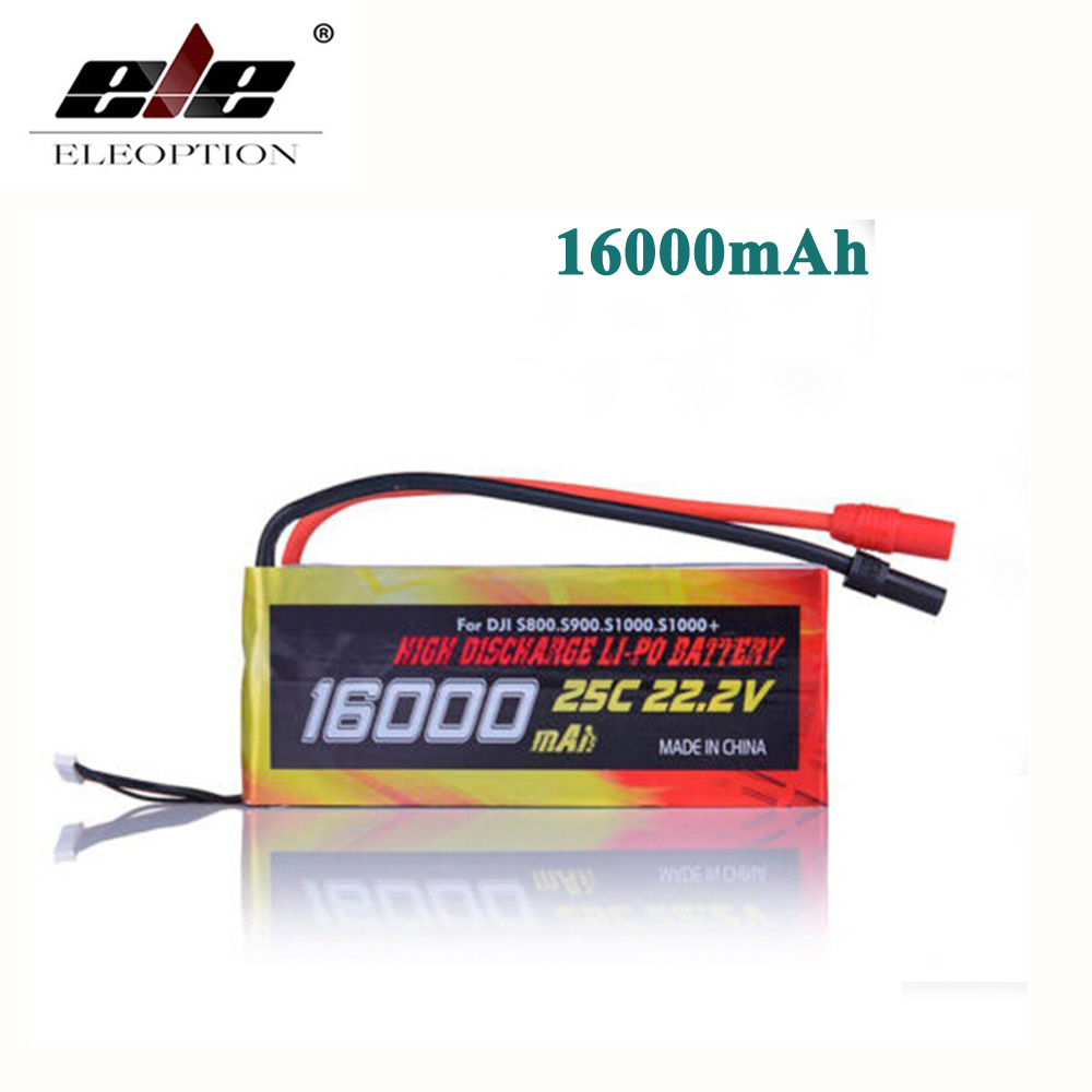 ELE ELEOPTION 16000mAh 6S1P 22 2V 25C LiPo Battery for font b Drone b font DJI
