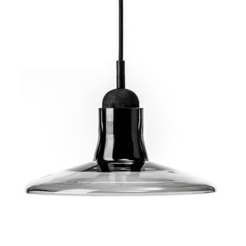Shadow Medium Pendant Lights Gray Smoke Cone Glass Pendant Lamp For Office Bedroom Lighting Fixtures Suspension Lustres PL51 цена 2017