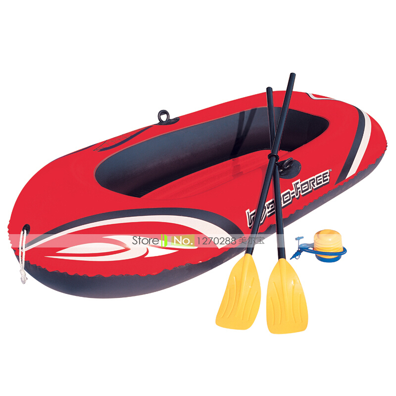 JZ07/196*141cm Vogue Inflatable Rowing Boats/Double <font><b>Fishing</b></font> Kayak With Pump&Oar Durable/Thickened/Antiseep Quality PVC