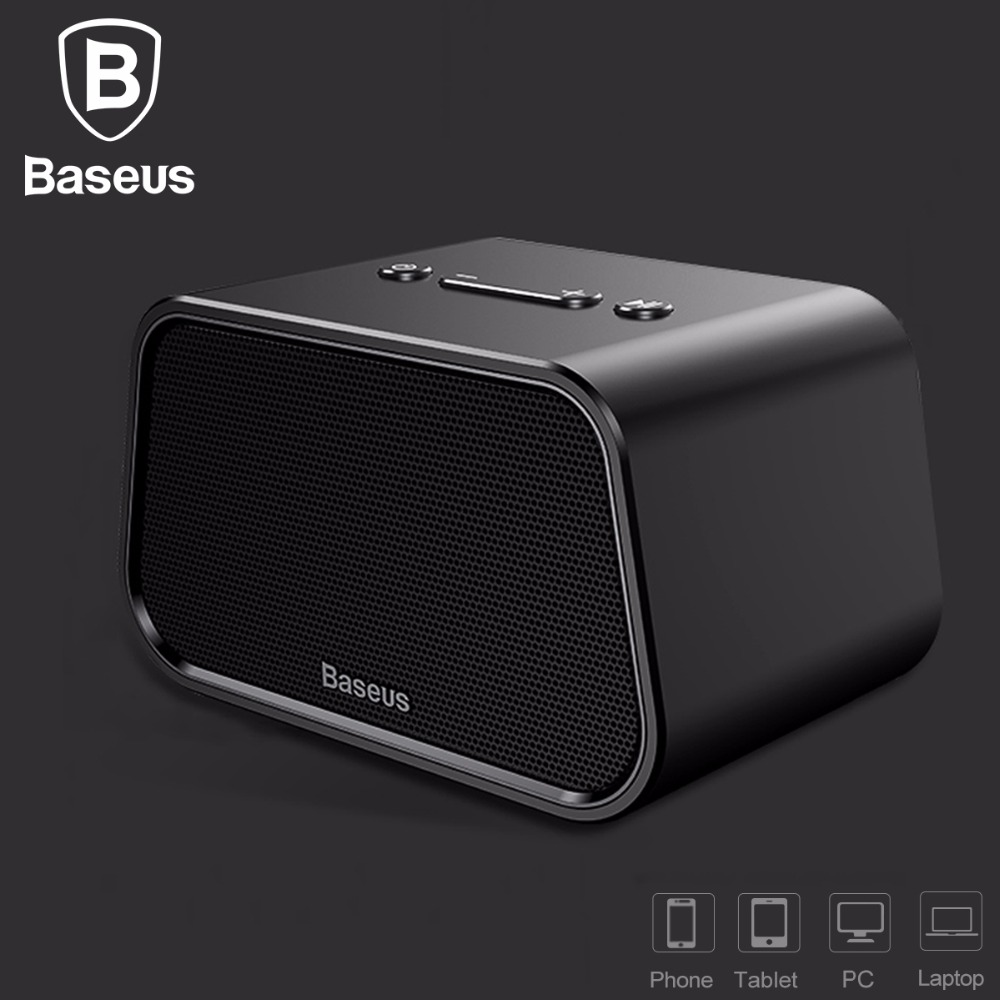 baseus bluetooth speaker mini portable outdoor wireless speaker 3d stereo music surround player. Black Bedroom Furniture Sets. Home Design Ideas