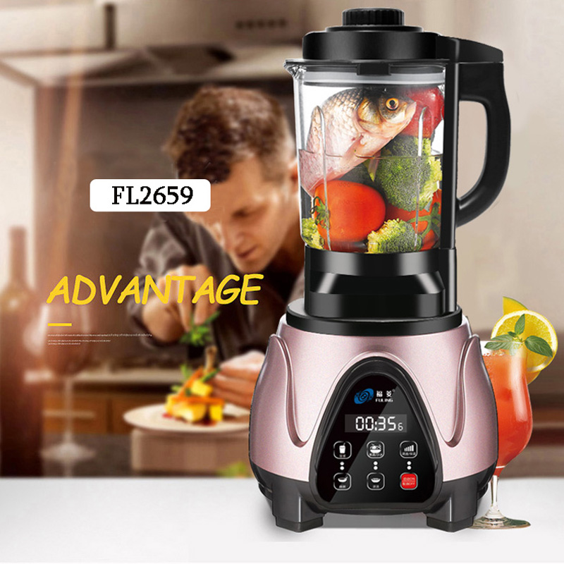 Household Automatic food Processer Multifunction Intelligent Heating Baby Blender Fl2659 new multifunction intelligent thermostat baby double bottle warmers sterilizers thermal insulation heating egg milk warmer