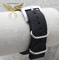 18mm 20mm 22mm Black Nato Watch Strap Band Military Army Nylon Divers G10 Mens