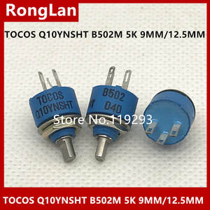 B502M 5k Potentiometer The And TOCOS BELLA Has Q10YNSHT Blue Long-Shank 9mmh/12.5mmh-Hole