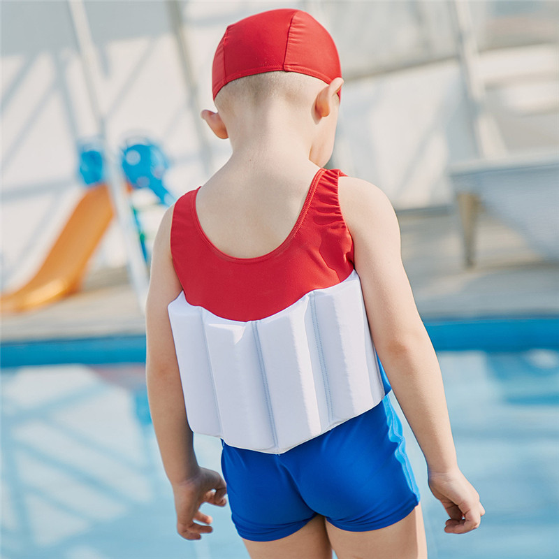3a7a542b1b SABOLAY Children Buoyancy Bathing Cartoon One Piece Suits Vest Boys  Floating Swimwear UV Protection Baby Kids Buoyant Swimsuit-in Children's One -Piece Suits ...