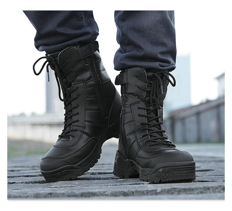 Aliexpress.com : Buy CQB Combat Boots Male Women Tactical Leather