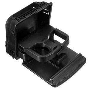 Image 2 - Mayitr New Black Center Console Armrest Cup Holder Water Drink Holder Stand For V W J etta MK 5 G olf MK 5 MK 6 GT I R 32