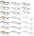 Оптовая Высокое Качество Красивый Ацетат Оптических Оправ и Металлической оправы для очков для Мужчин Очки Аксессуары Brille